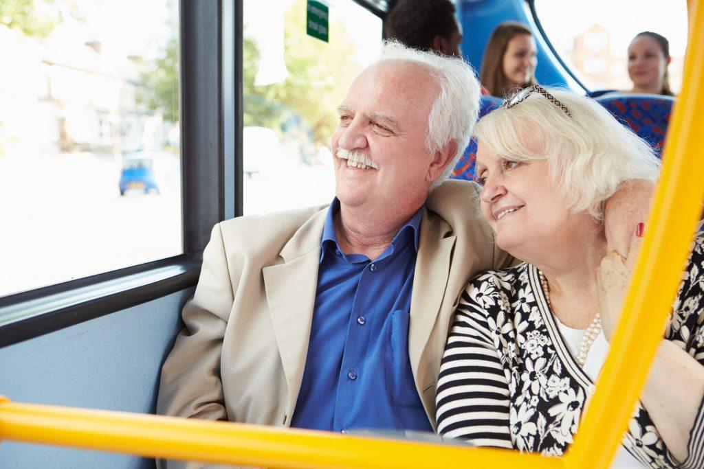 Senioren im Bus - Seniorenticket für Hessen